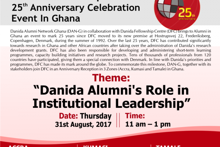 25th Anniversary Celebration Event in Ghana