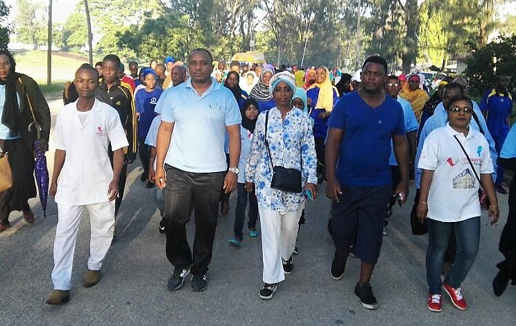 : Non-communicable diseases are silent killers in Zanzibar as elsewhere. It is paramount that we create awareness about NCDs, says Omar Mwalim. he marching for xxxxxxx together with xxxxxxx