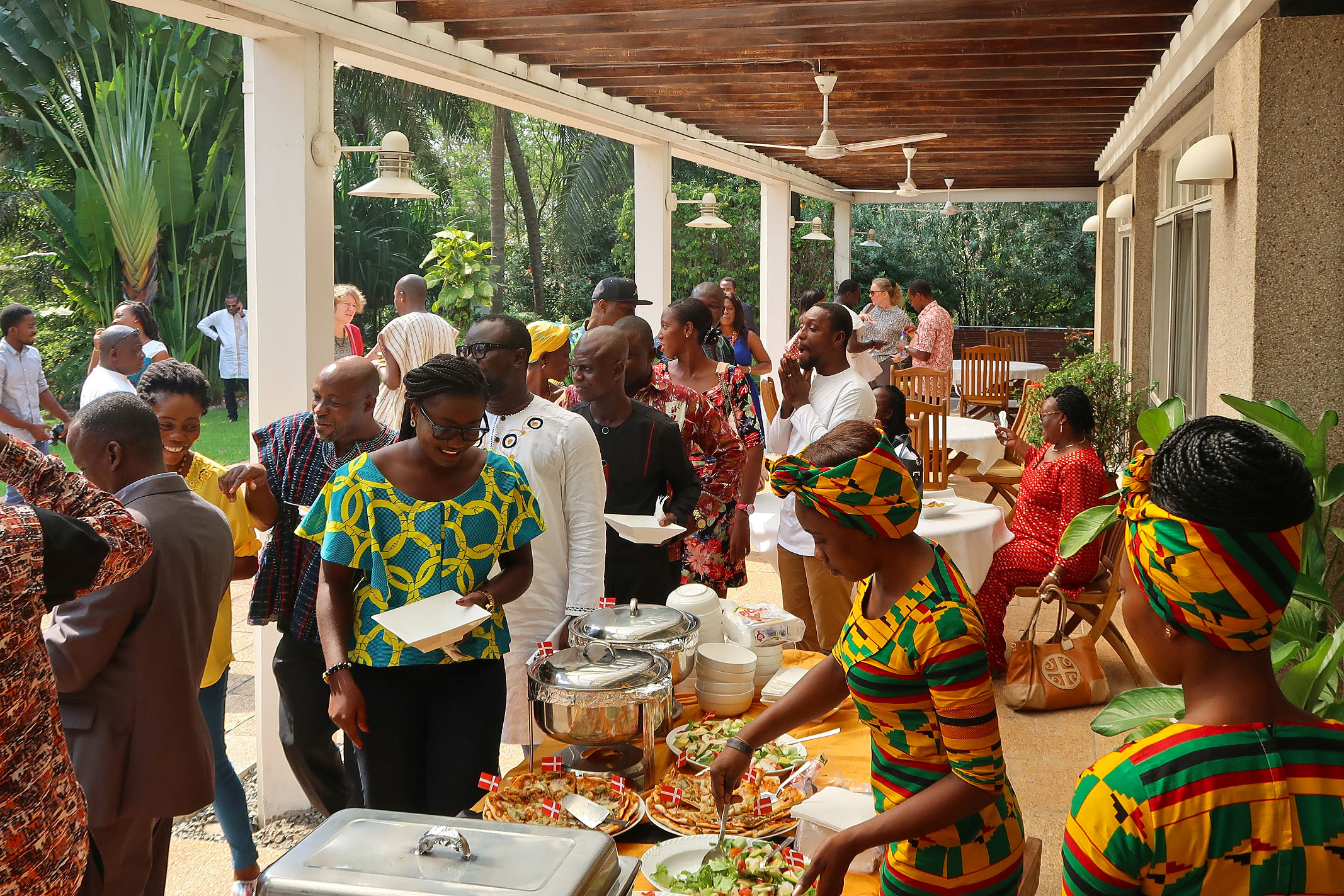 "The event lasted from early morning and ended with dinner and ""hygge"" in the evening. Photo: Danish Embassy in Ghana."