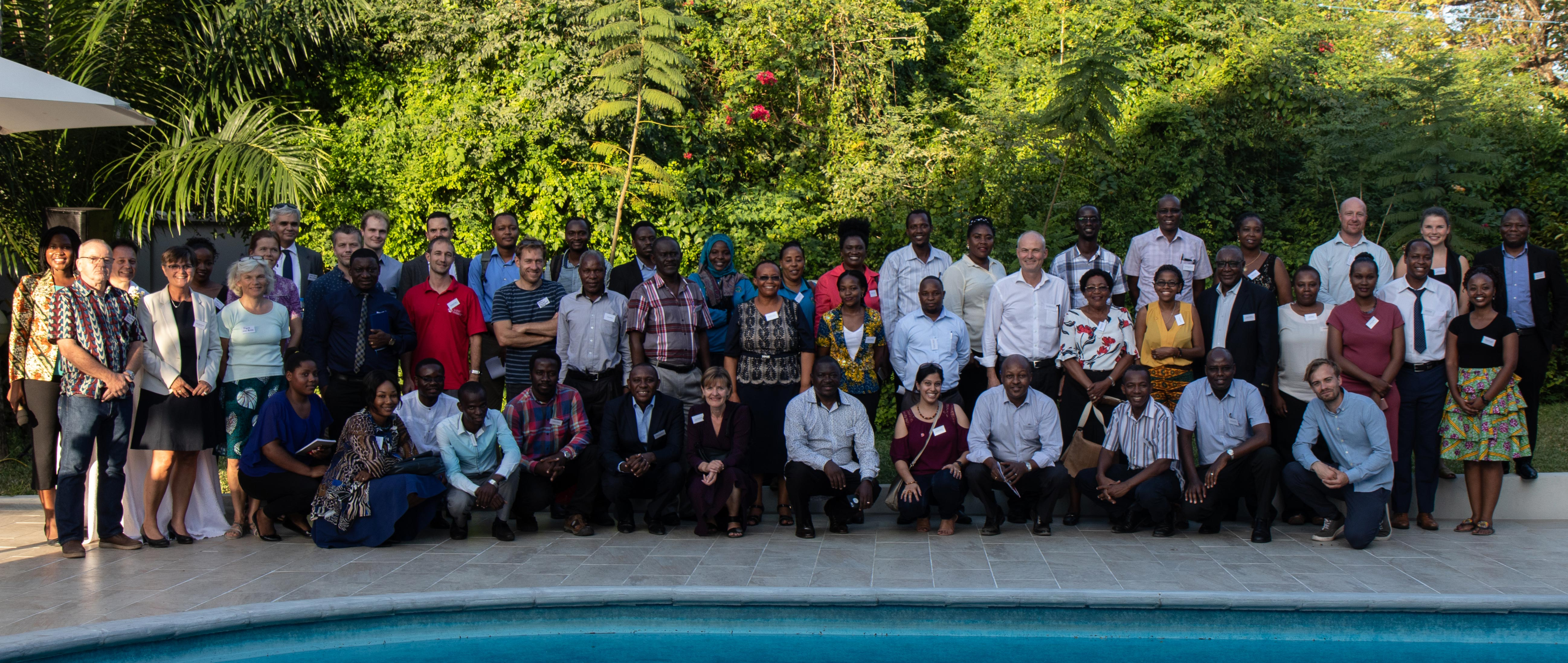 Alumni and companies at Danida Tanzania Alumni Network Launch
