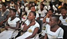 Science for girls in Ghana